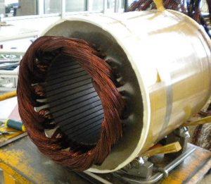 Synchronmotor als Generator für Windkraftanlagen 600 KW | SycoTec