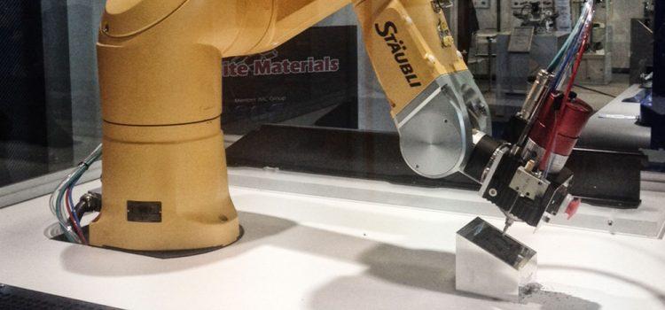 Hochfrequenzspindeln in der Robotertechnik