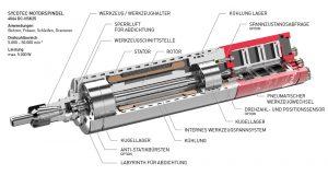 Spindelmotor und Motorspindel von SycoTec